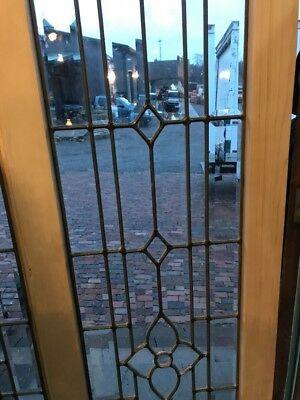 SG 1655 two available price separate antique all Bevel transom window 16 x 77.5