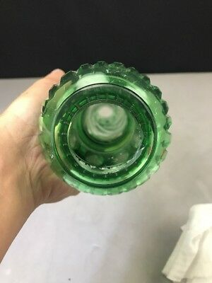 Lamp Stem Cut to Clear Part Oil Electric Bohemian Green 5