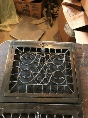 T 17 5 available price each 10 x 12 swirly wall mount heating Grate 4