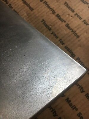 """1/2 X 6 Flat Steel Bar 1018 Machining Cold Rolled 0.500 Smooth Finish 12"""" L 10"""