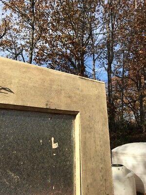 Ho Antique 36 Inch Oak Entrance Door Florentine Glass 83.25 hi