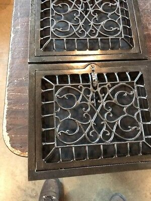 T 17 5 available price each 10 x 12 swirly wall mount heating Grate 2