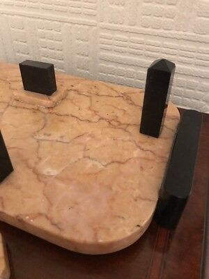 Stunning Art Deco Marble Smokers Stand - Very Stylish