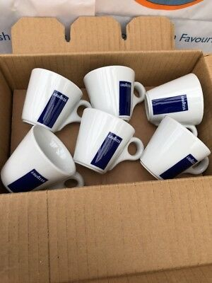 12 Lavazza Espresso Cups Only Blue Box Logo (tazza Coffee Senza Piatto) 20002124