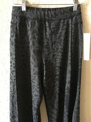 a6f4207b9 ... Lululemon Forward Fold Pants Trousers Black Gray Leopard Animal Print 2  NWT 2