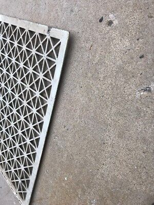 The antique cast-iron heating great face or cold air return 26.25 x 32.25 7