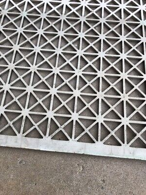 The antique cast-iron heating great face or cold air return 26.25 x 32.25 6