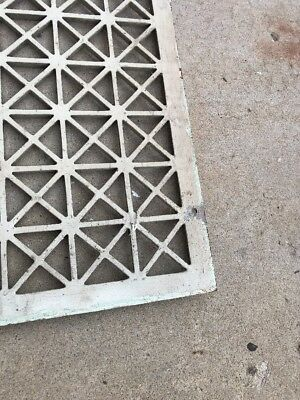 The antique cast-iron heating great face or cold air return 26.25 x 32.25 5