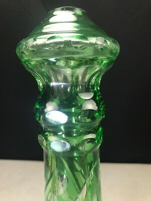 Lamp Stem Cut to Clear Part Oil Electric Bohemian Green 2
