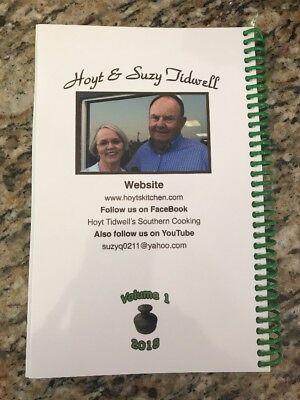 Hoyt's Kitchen cook book signed Edition Hoyt's Tidwell Kitchen