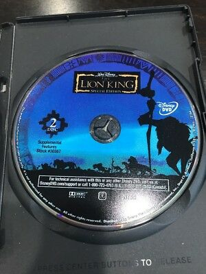 The Lion King (DVD, 2003, 2-Disc Set, Platinum Edition Features an All-New Song) 4