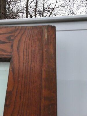 OXF 29 Antique Oak French Door 27.5 X 79.75