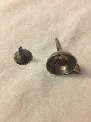 2 Sterling Silver Perfume Nossils 8