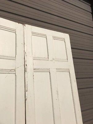 "An 427 Match Pair Antique Double Door Passage 6' X 100"""