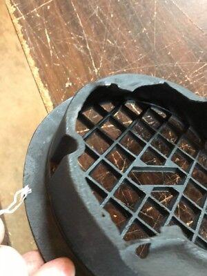 T 13 Antique Round Heating Grate No Fins 9 3/8 4