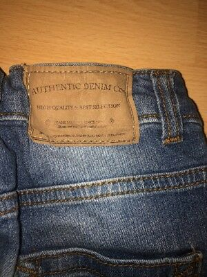 Two pairs of Boys Zara adjustable waist Jeans Aged 5-6 Years 11