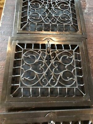 T 17 5 available price each 10 x 12 swirly wall mount heating Grate 3