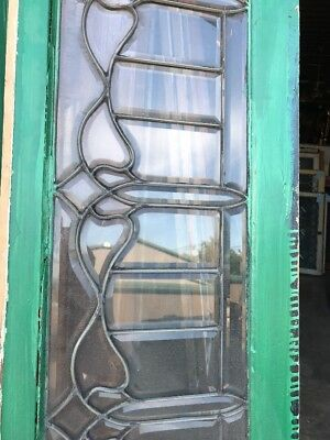 SG 2377 two available price separate antique all beveled glass transom window t…