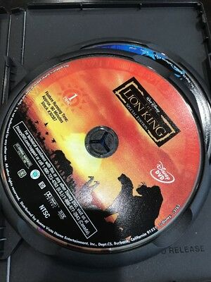 The Lion King (DVD, 2003, 2-Disc Set, Platinum Edition Features an All-New Song) 3