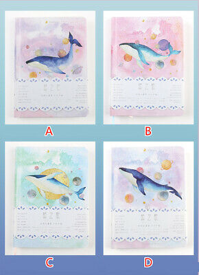 """""""Universe Whale"""" 1pc Cute Monthly Daily Planner Agenda Diary Journal Free Note 2"""