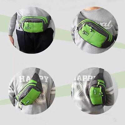 Bum Waist Bag Handy Belt Climbing Hiking Sport Unisex Fanny Pack Zip Pouch 6