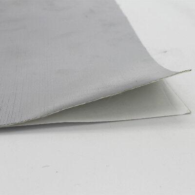 Exhaust Turbo Heat Shield Wrap Mat Aluminium Foil Backed Glass Fibre 12/'/'x12/'/' L