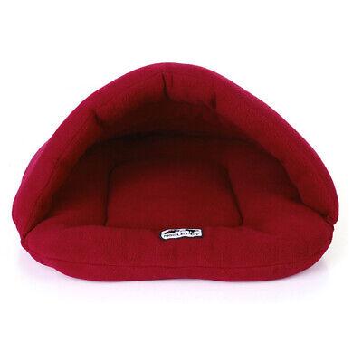 Pet Dog Cave Pad Sleeping Bag Bed Mat Warm Puppy Nest House Soft Cat 4