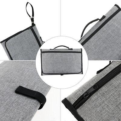 Portable Changing Change Clutch Mat Diaper Bag Foldable Pad Handbag Baby Nappy 6