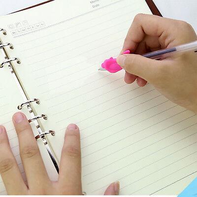 10pcs Pencil Grip Pen Posture Holder Correction Aid Kids Children Hand Writing 9