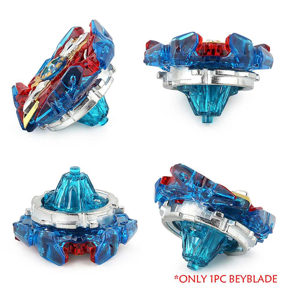 Fusion Rare Beyblade Set Metal Fight Master 4D Top Rapidity With Launcher Grip 11