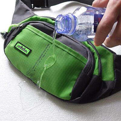 Bum Waist Bag Handy Belt Climbing Hiking Sport Unisex Fanny Pack Zip Pouch 5
