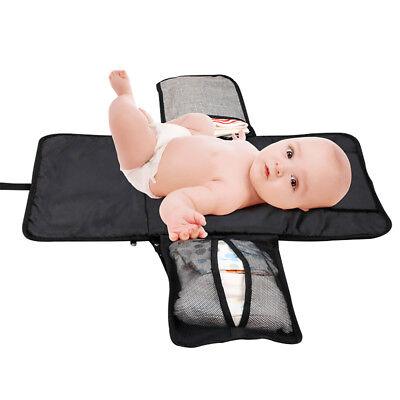 Portable Changing Change Clutch Mat Diaper Bag Foldable Pad Handbag Baby Nappy 4