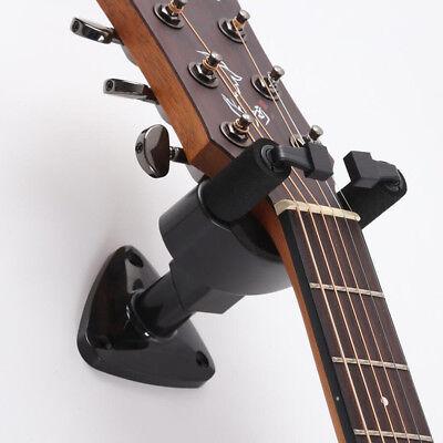 Guitar Ukulele Bass Hanger Holder Wall Mount Stand Rack Short Slotted Hook 7
