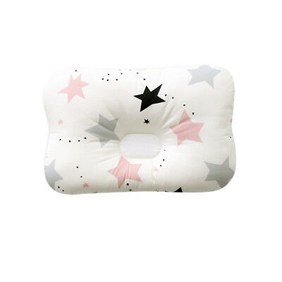 Baby Infant Newborn Prevent Flat Head Neck Syndrome Support Square Pillow 10