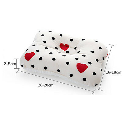 Baby Infant Newborn Prevent Flat Head Neck Syndrome Support Square Pillow 2