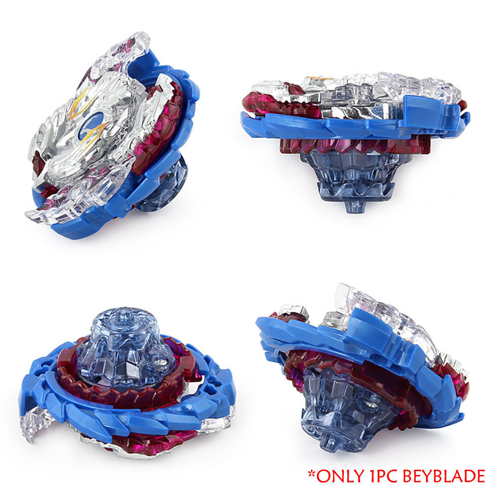 Fusion Rare Beyblade Set Metal Fight Master 4D Top Rapidity With Launcher Grip 10