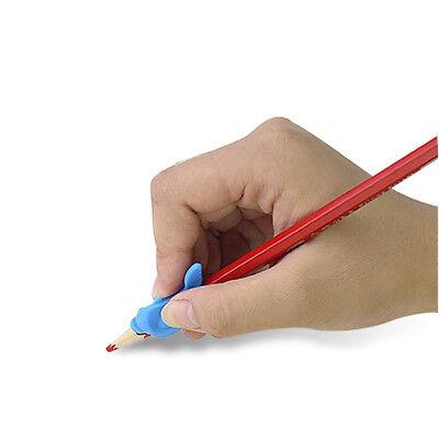 10pcs Pencil Grip Pen Posture Holder Correction Aid Kids Children Hand Writing 3