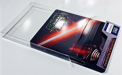 10 Steelbook Box Protectors / Protective Sleeves Cases  / Clear Slipcovers  G2 2