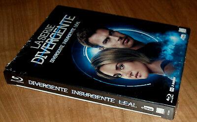 Saga Divergente Insurgent Loyal 3 Blu-Ray Neuf Scellé Action (Sans Ouvrir) R2 3