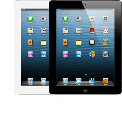 "Apple iPad 4 - 4th Generation 9.7"" with Retina Display 16GB, 32GB, 64GB WIFI 5"