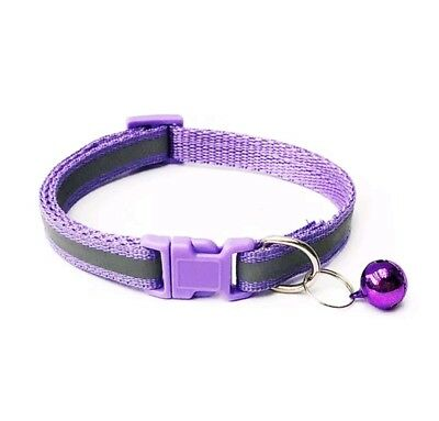 Reflective Dog Cat Kitten Collar Pet Puppy Adjustable Harness with Bell 10