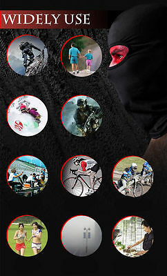Outdoor Cycling Motorcycle Ski Neck Protecting Lycra Balaclava Full Face Mask GG 6