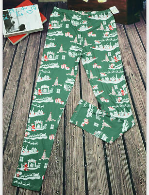 US Stock Family Match Christmas Adult Women Kid Sleepwear Nightwear Pajamas HOT 3