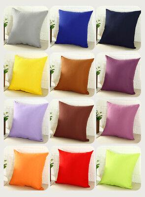 "Square Home Sofa Decor Pillow Cover Case Cushion Cover Size 16/"" 18/"" 20/"" 22/"" 24/"""
