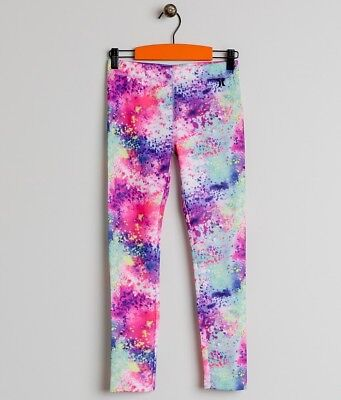 Girls Hurley Sublimation Leggings Size L 152-158Cm (12-13 Years) Multicolour 3