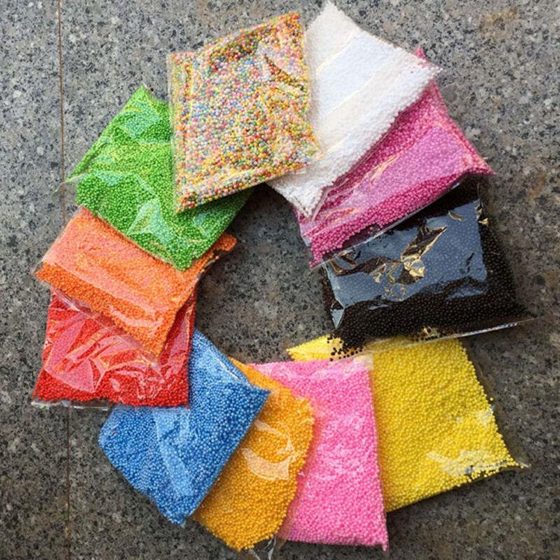 HOT!!! Assorted Colors Polystyrene Styrofoam Filler Foam Mini Beads Balls Crafts 6