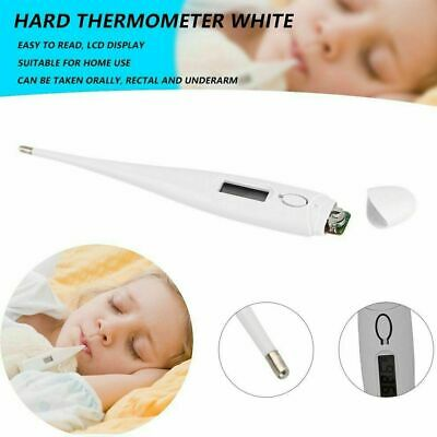 Digital LCD Thermometer Medical Baby Adult Body Kids Safe Ear Mouth Temperature 2