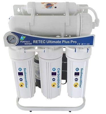 Ultimate PLUS Pro umkehr Osmose Wasserfilter 600 GPD direct flow Mod. 2018