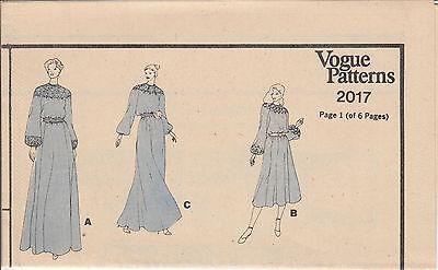 Bridal Wedding Gown Dress MOB Vintage Vogue Sewing Pattern 2017 Sz 14 Uncut 3