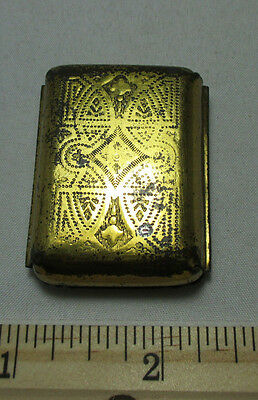 GERMAN NEEDLE CASE, Neuss Brothers (A.B. REUMONT); ANTIQUE c1880 4